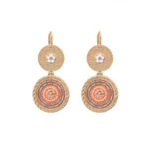 Satellite Paris - Earrings Rivage Light Pink 2