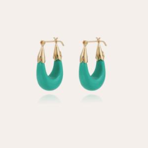 Gas Bijoux - Earrings Ecume Turquoise