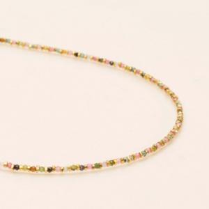 Une a Une - Necklace Jaipur Tourmaline