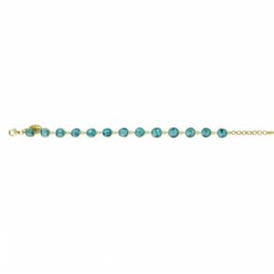 Sputnik - Bracelet Blue Topaz