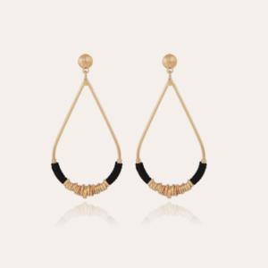 Gas Bijoux - Earrings Zizane Black