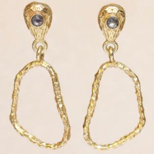 Muja Juma - Earrings 1512GB2 Labradorite