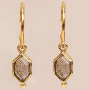 Muja Juma - Earrings 1519GB2 Labradorite