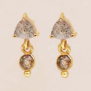 Muja Juma - Earrings 1522GB2 Labradorite