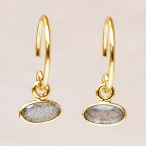 Muja Juma - Earrings 1536GB2 Labradorite