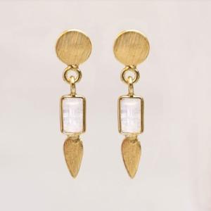 Muja Juma - Earrings 1544GB1 Moonstone
