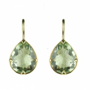 Sputnik Jewelry - Earrings Cleopatra Green Amethyst