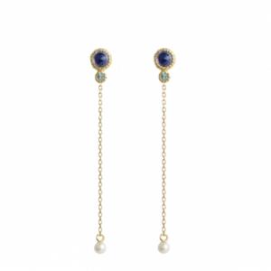 Sputnik Jewelry - Earrings Route 66 Lapis Lazuli