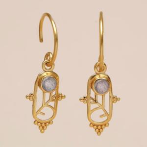Muja Juma - Earrings 1610GB2 Labradorite
