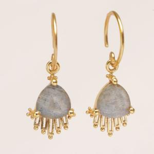 Muja Juma - Earrings 1639GB2 Labradorite