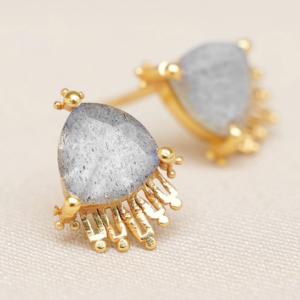 Muja Juma - Earrings 1640GB2 Labradorite
