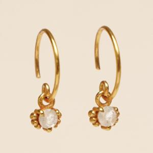 Muja Juma - Earrings 1665GB1 Moonstone