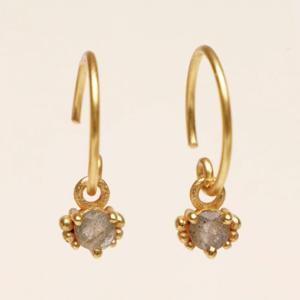 Muja Juma - Earrings 1665GB2 Labradorite