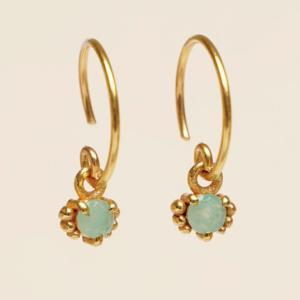 Muja Juma - Earrings 1665GB5 Amazonite