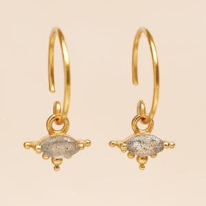 Muja Juma - Earrings 1668GB2 Labradorite