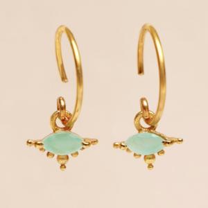 Muja Juma - Earrings 1668GB5 Amazonite