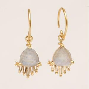 Muja Juma - Earrings 1697GB2 Labradorite